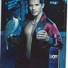 Magazine Paper Print Ad With John Leguizamo For 2003 Skyy Vodka #47 Birds of A Feather