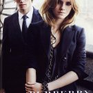 Magazine Paper Print Ad Set With Emma Watson For Burberry #1