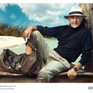 Magazine Paper Print Ad With Sean Connery On Pier For 2009 Louis Vuitton