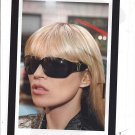 Magazine Paper Print Ad With Kate Moss For 2008 Yves Saint Laurent Black Sunglasses