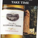 Magazine Paper Print Ad For 2000 Redwood Creek Chardonnay: Good Things