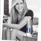 Magazine Paper Print Ad With Jennifer Aniston For Glaceau Smart Water: By Lake