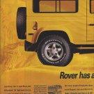 Magazine Paper Print Ad For BF Goodrich Tires & Yellow Jeep Scene