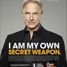Magazine Paper Print Ad With Mark Harmon For Cancer Research Institute