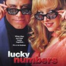 Magazine Paper Print Ad With John Travolta & Lisa Kudrow For Lucky Numbers Movie Promo