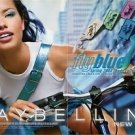 Magazine Paper Print Ad With Adriana Lima For Maybelline Fly Blue