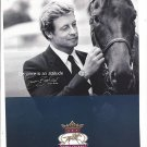 Magazine Paper Print Ad With Simon Baker For Longines Two Tone Triple Crown Watches
