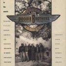 Magazine Paper Print Ad With The Doobie Brothers Cycles Album Promo