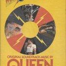 Magazine Paper Print Ad With Queen For Flash Gordon Soundtrack Promo