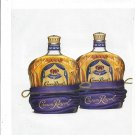 Magazine Paper Print Ad For Crown Royal: Definitive Argument For Cloning