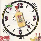Magazine Paper Print Ad For Chi Chi's Margaritas: Party Time Clock Scene