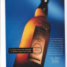Magazine Paper Print Ad For Evan Williams Whisky: A Good Year