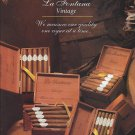 Magazine Paper Print Ad For La Fontana Cigars: Measure Quality