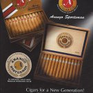 Magazine Paper Print Ad For Arango Cigars: Sportsman Cigars For A New Generation