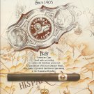 Magazine Paper Print Ad For Aurora Dominican Cigars:Seal Wrapper Scene