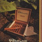 Magazine Paper Print Ad For Plasencia Cigars: Essence of Nature