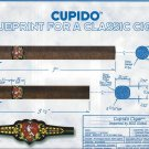 Magazine Paper Print Ad For Cupido Cigars: Blueprint For A Cigar Scene