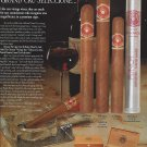 Magazine Paper Print Ad For Punch Premier Cigars: Grand Cru Scene