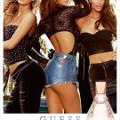 Magazine Paper Print Ad With Leticia, Megan & Natasha For Guess Dare Fragrance