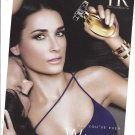Magazine Paper Print Ad With Demi Moore For Helena Rubinstein All You've Ever Wanted Scented