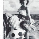 Magazine Paper Print Ad With Noelle Roques For Guess Marciano Beach Scenes