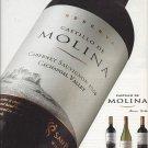 Magazine Paper Print Ad For Castillo De Molina Cabernet Wines