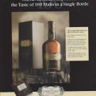 Magazine Paper Print Ad For Chivas Century Scotch: Essence of Scotland