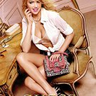 Magazine Paper Print Ad With Kate Upton For Guess Fashions