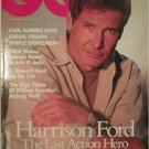 GQ Magazine June 1994 Harrison Ford Cover