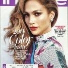 InStyle Magazine April 2014 Jennifer Lopez Cover
