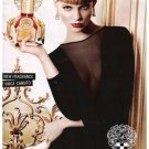 Magazine Paper Print Ad With Viktoriya Sasonkina For 2011 Vince Camuto Fragrance