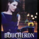 Magazine Paper Print Ad For Boucheron Le Parfum Bague