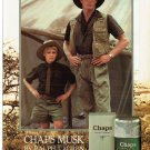 Magazine Paper Print Ad For Ralph Lauren Chaps Musk Fragrance