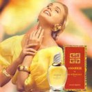 Magazine Paper Print Ad For 1994 Givenchy Amarige Fragrance