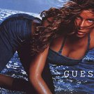 Magazine Paper Print Ad With Laetitia Casta For 2003 Guess Fashions