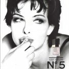 Magazine Paper Print Ad For 1995 Chanel No 5 Voile Fragrance