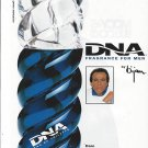 Magazine Paper Print Ad For 1983 Bijan DNA For Men