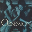 Magazine Paper Print Ad For Calvin Klein Obsession 1985