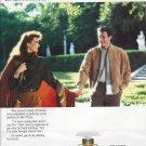 Magazine Paper Vintage Print Ad For Gucci No 3 Perfume: Villa D'Este Garden