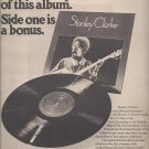 Magazine Paper Print Ad With Stanley Clarke For 1975 Self Title Album