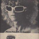 Magazine Paper Print Ad With Michel Polnareff For 1976 Self Title Album