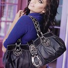 Magazine Paper Print Ad With Bree Conden For 2005 Guess Black Handbags