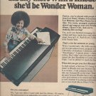 Magazine Paper Print Ad With Patrice Rushen For Rhode Keyboards