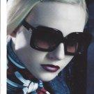 Magazine Paper Print Ad With Caroline Trentini For Dolce & Gabbana Sunglasses