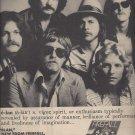 Magazine Paper Print Ad For Firefall 1978 Elan Album Promo