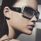 Magazine Paper Print Ad With Camilla Finn For Emporio Armani Sunglasses