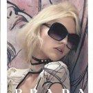 Magazine Paper Print Ad With Sasha Pivovarova For 2008 Prada Eyewear