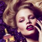 Magazine Paper Print Ad With Lara Stone For 2011 Tom Ford Violet Blonde
