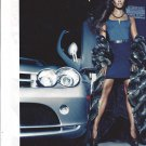 Magazine Paper Print Ad With Naomi Campbell For Dennis Basso Fashions