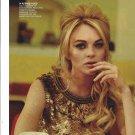 Magazine Article & 2008 Photo Set With Lindsay Lohan: Super Hero